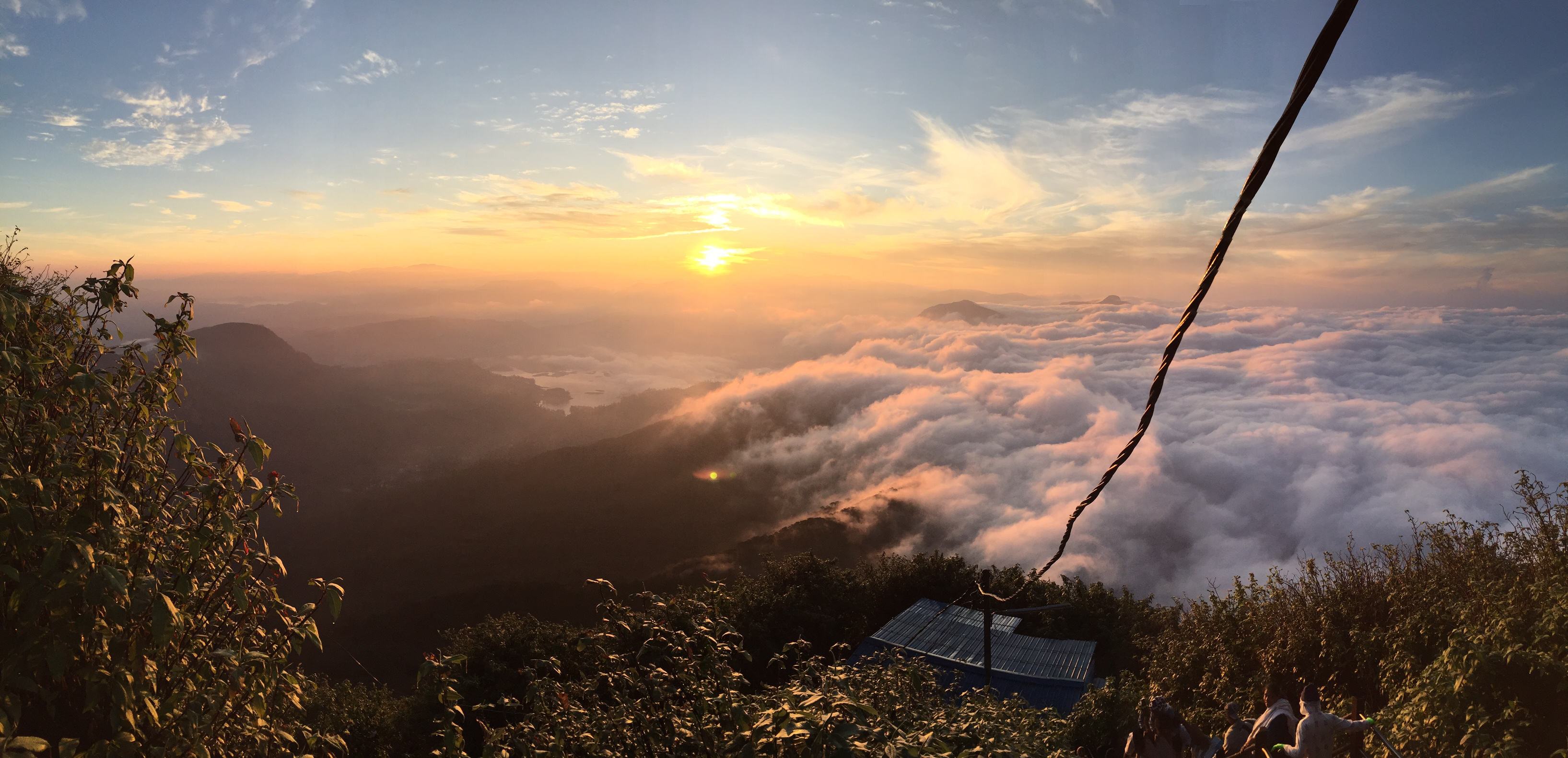 Sunrise Adams Peak Sri Lanka