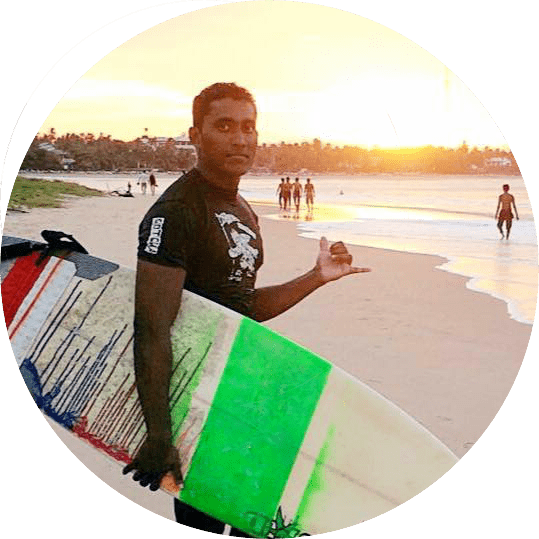 Sri Lankan Surfer
