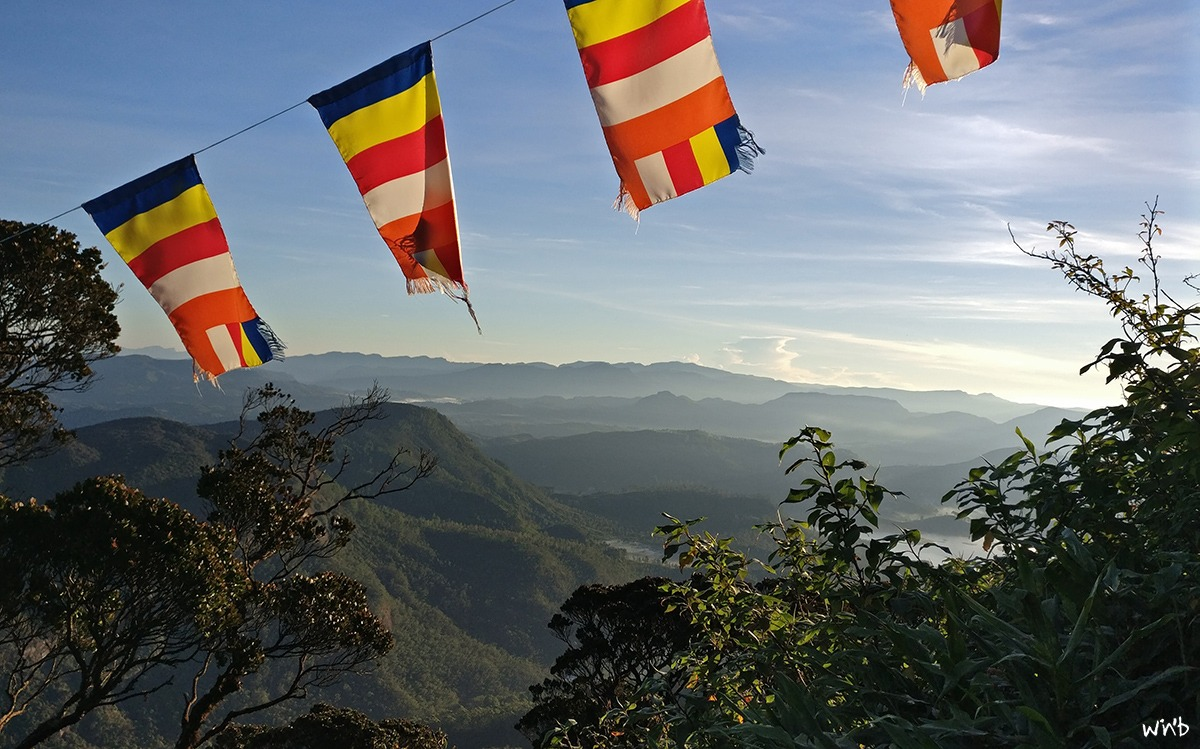 Adam's Peak view