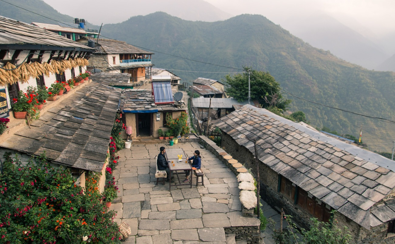 Ghandruk cottages