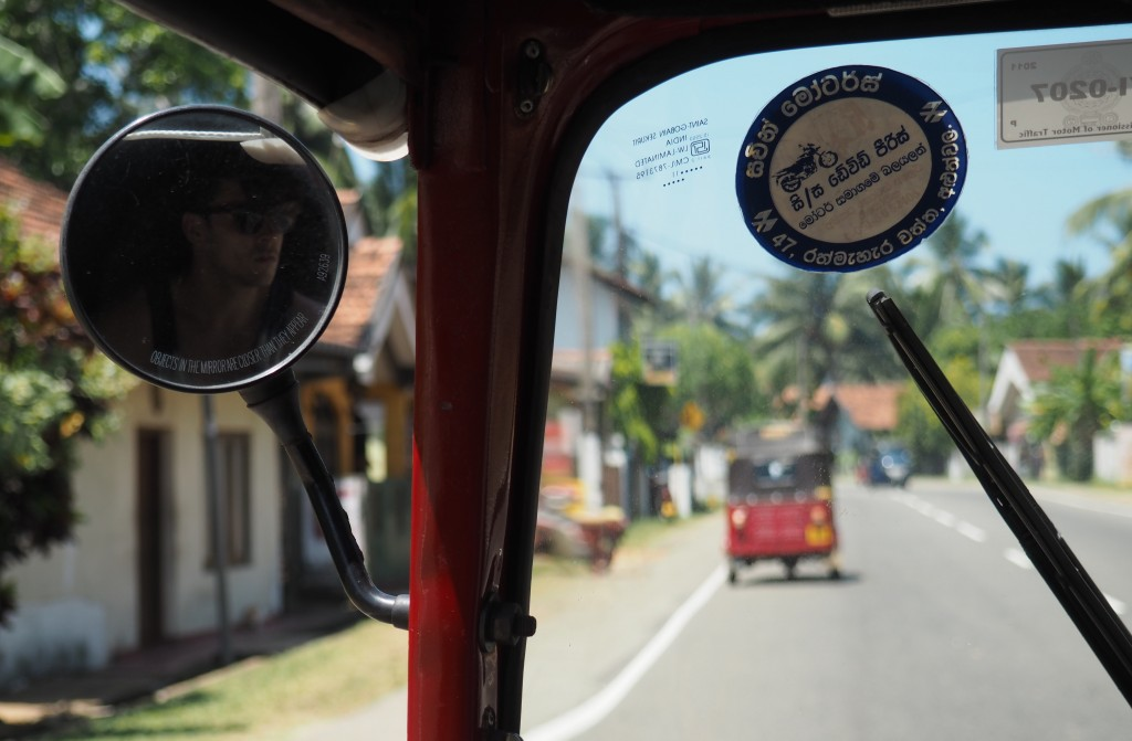 Tuk-Tuks in Sri Lanka