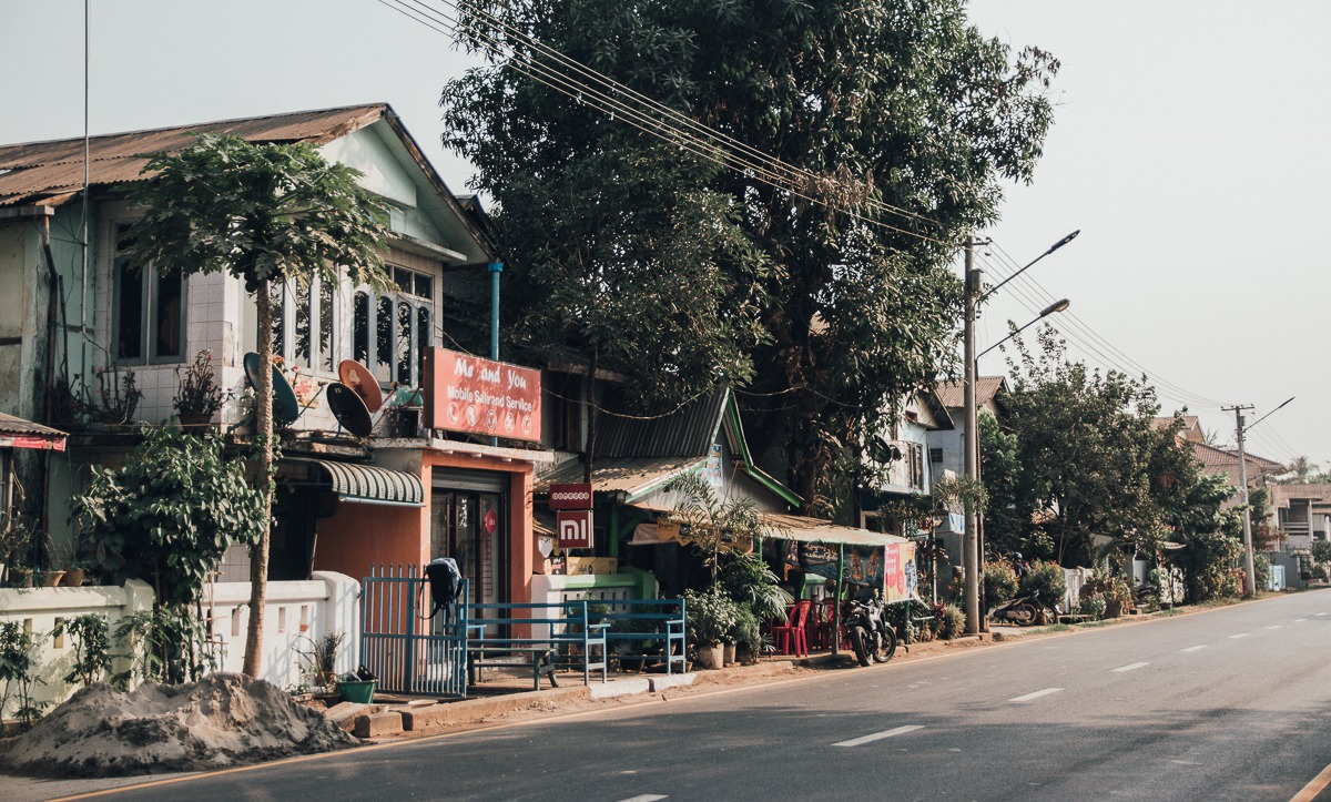Streets of Hpa-An