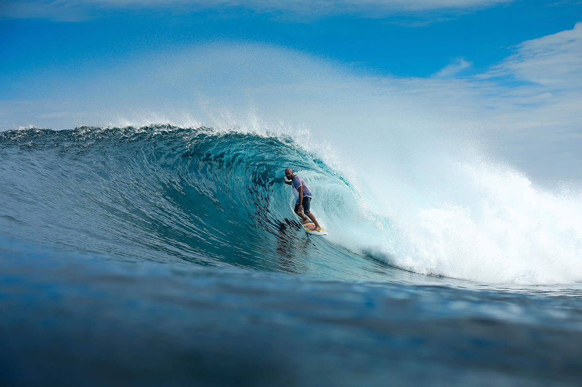 Surfing in Northern Sumatra